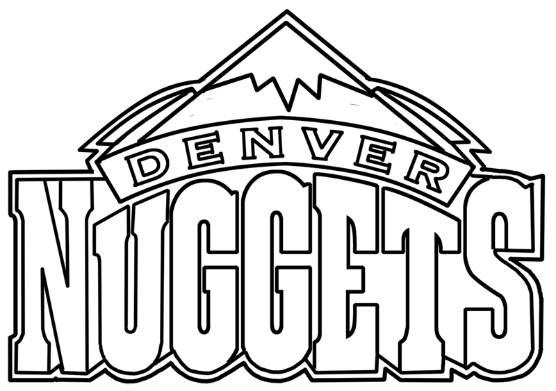 Learn easy to draw denver nuggets step 00