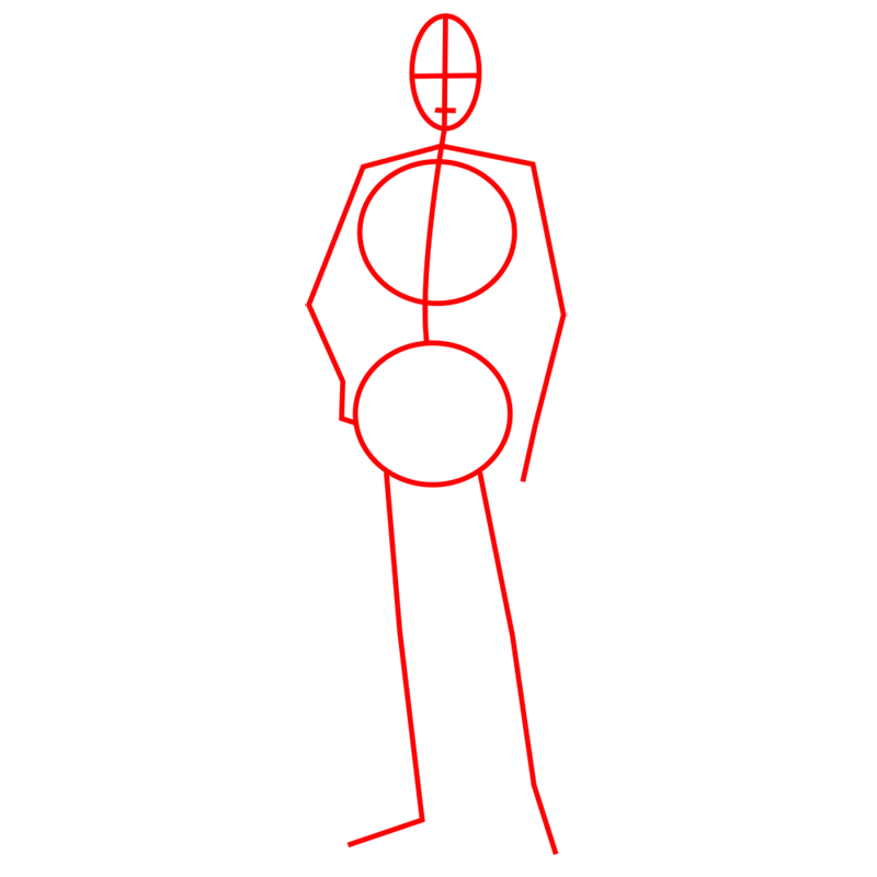 Learn easy to draw erwin smith step 01