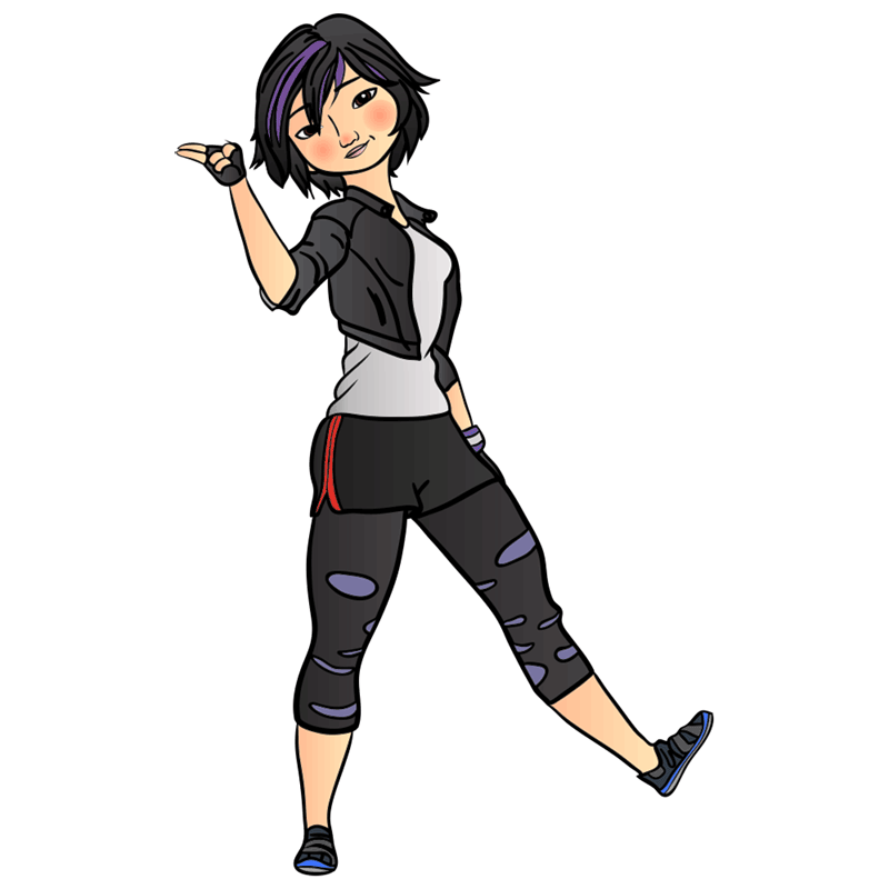 Learn easy to draw gogo tomago step 12