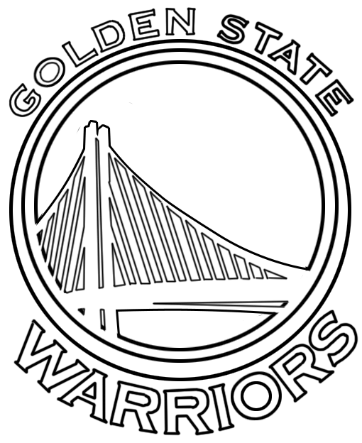 Learn easy to draw golden state warriors step 00