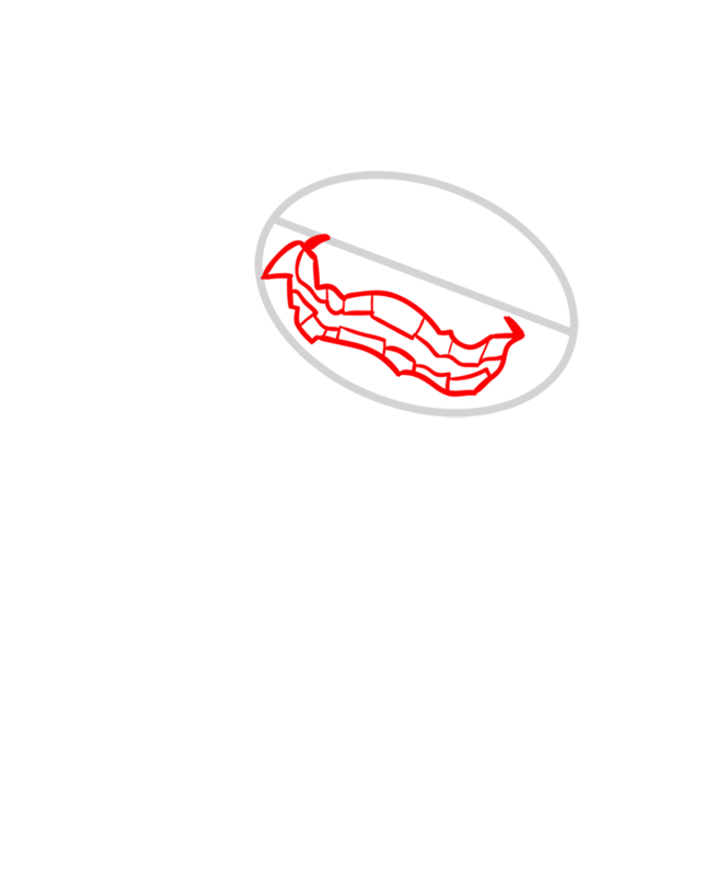 Learn easy to draw gravattack step 02