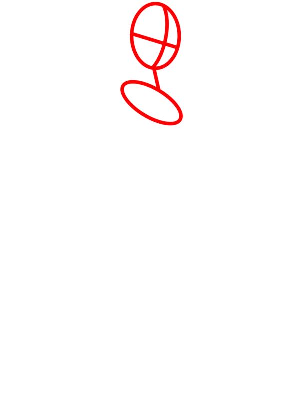 Learn easy to draw gwen tennyson step 01