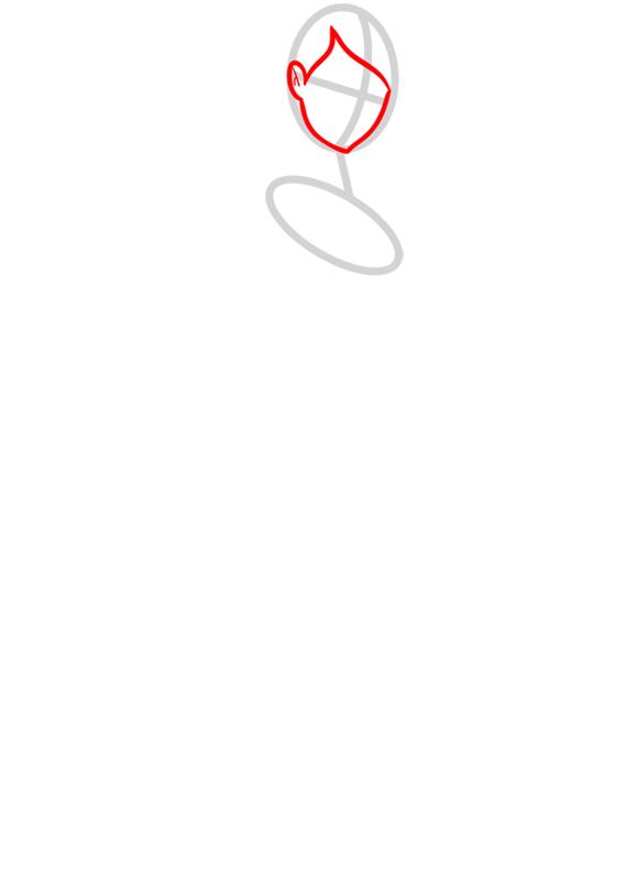 Learn easy to draw gwen tennyson step 02