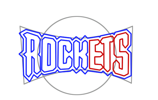 Learn easy to draw houston rockets step 05