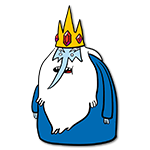Learn easy to draw ice king icon