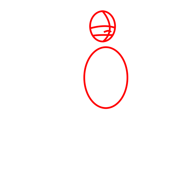 Learn easy to draw iroh step 01