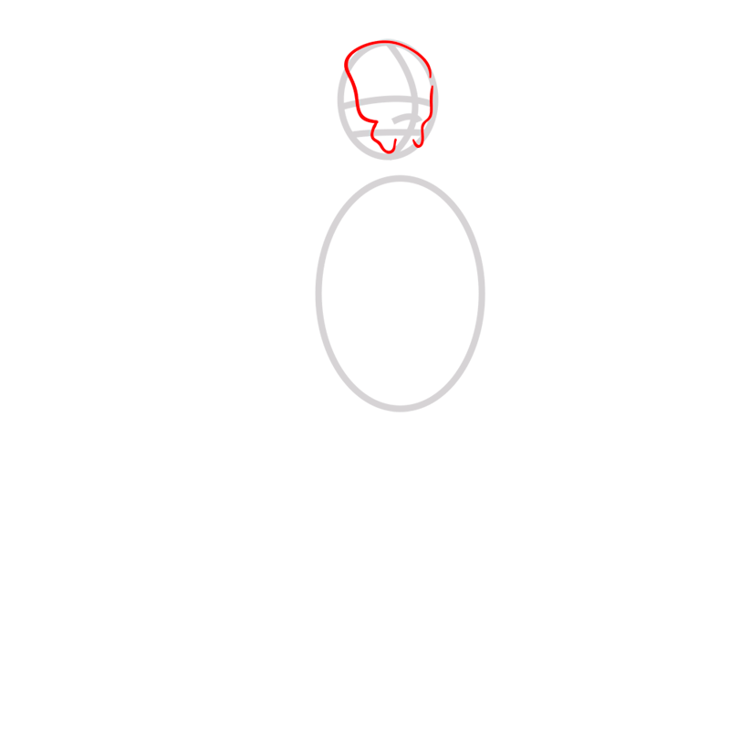 Learn easy to draw iroh step 02