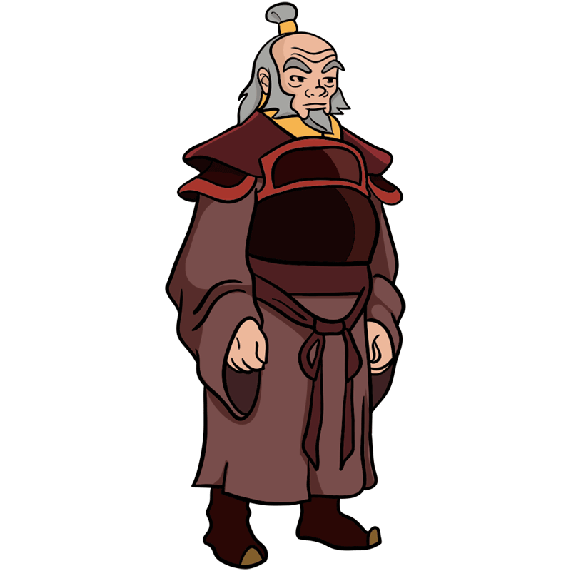 Learn easy to draw iroh step 12