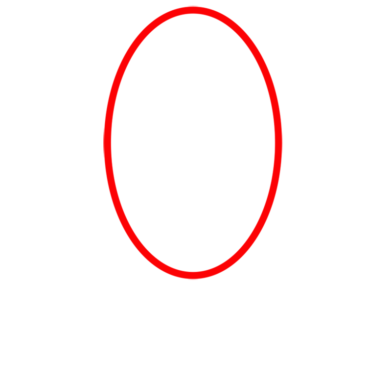 Learn easy to draw jake step 01