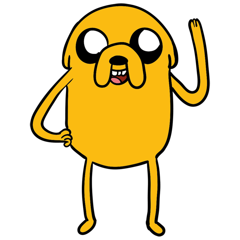 Learn easy to draw jake step 09