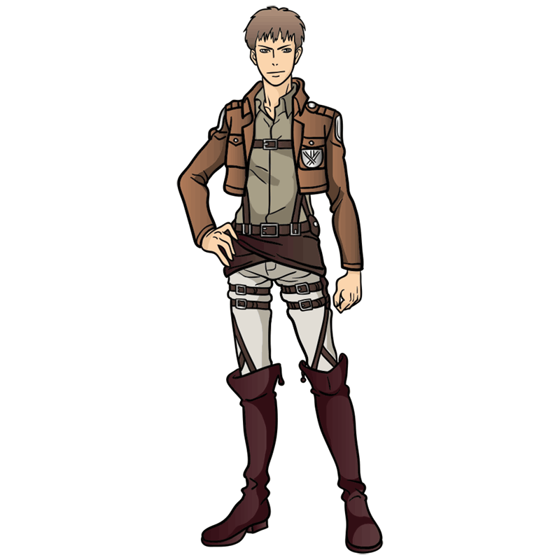 Learn easy to draw jean kirstein step 12