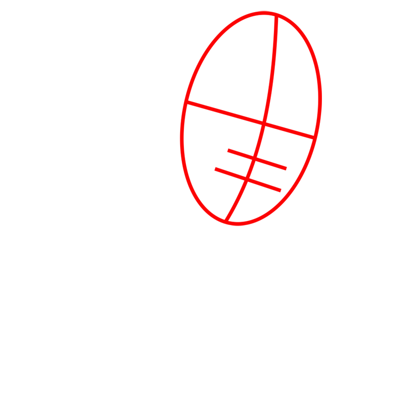 Learn easy to draw ken step 01