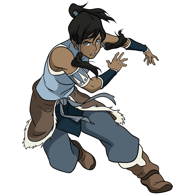 Learn easy to draw korra step 13