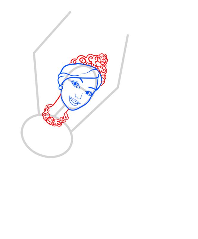 Learn easy to draw kristyn step 04
