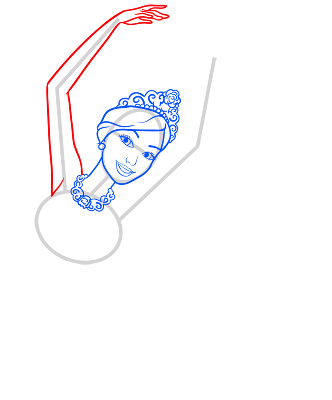 Learn easy to draw kristyn step 05