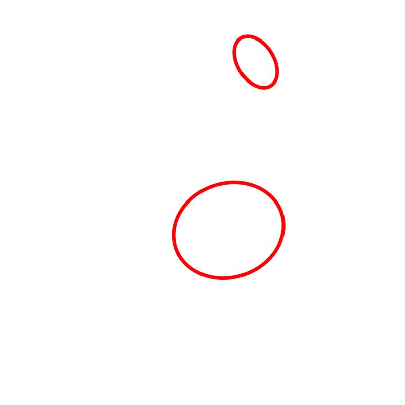 Learn easy to draw lady rainicorn step 01