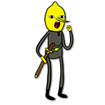 Learn easy to draw lemongrab icon