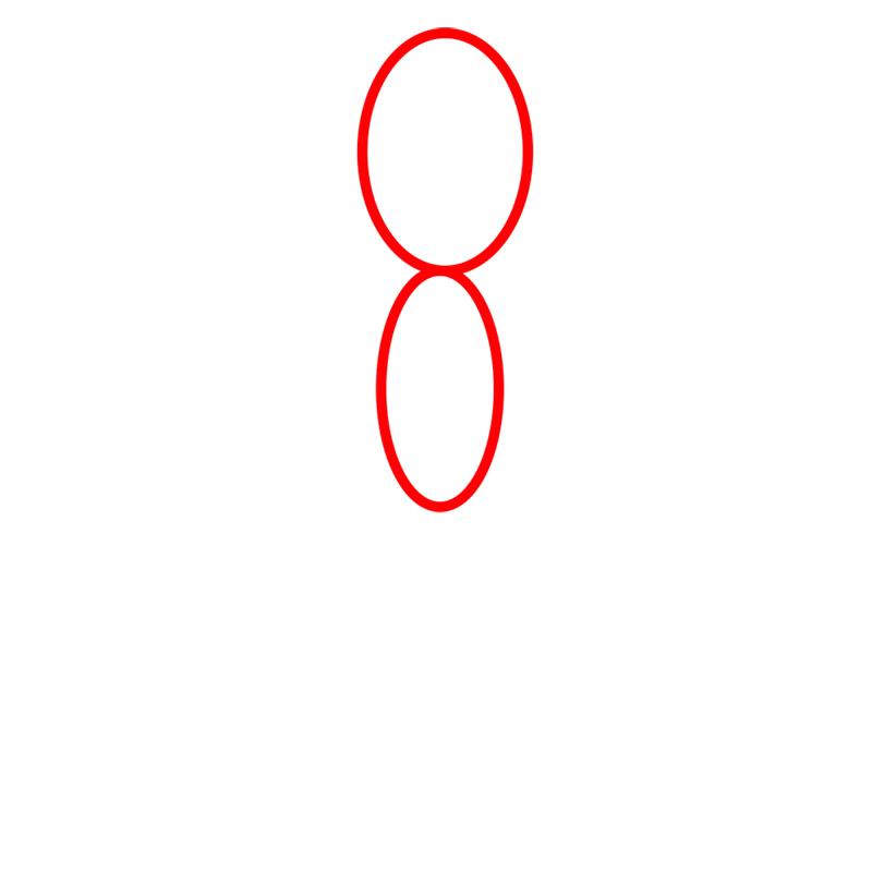 Learn easy to draw lemongrab step 01