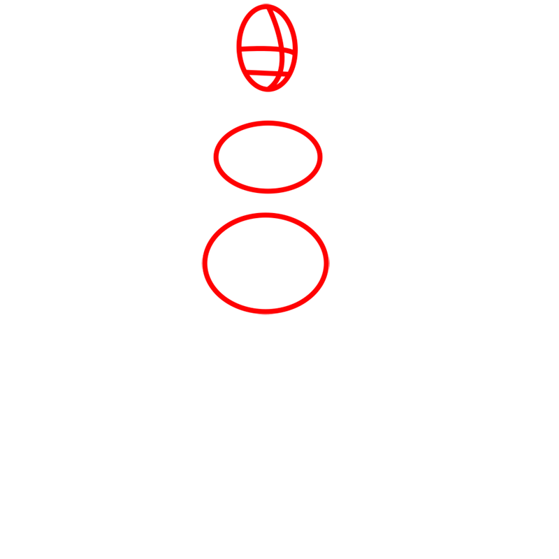Learn easy to draw lin beifong step 01