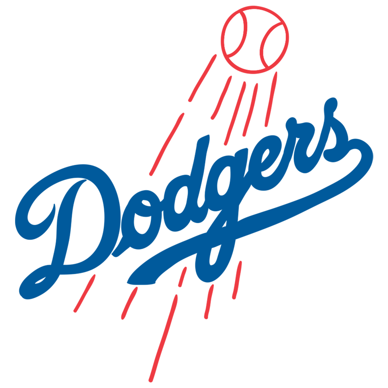 Learn easy to draw los angeles dodgers step 00