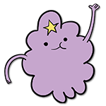 Learn easy to draw lumpy space princess icon