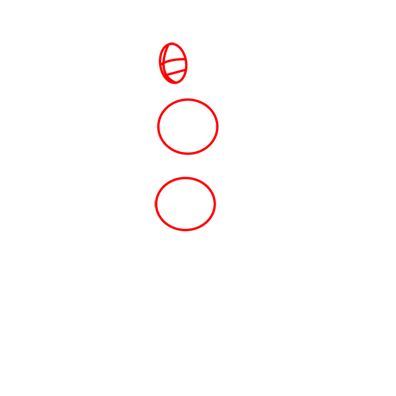 Learn easy to draw mako step 01
