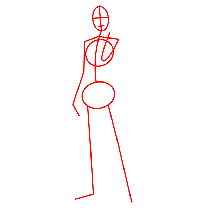 Learn easy to draw marco bott step 01