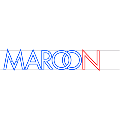 Learn easy to draw maroon 5 step 09