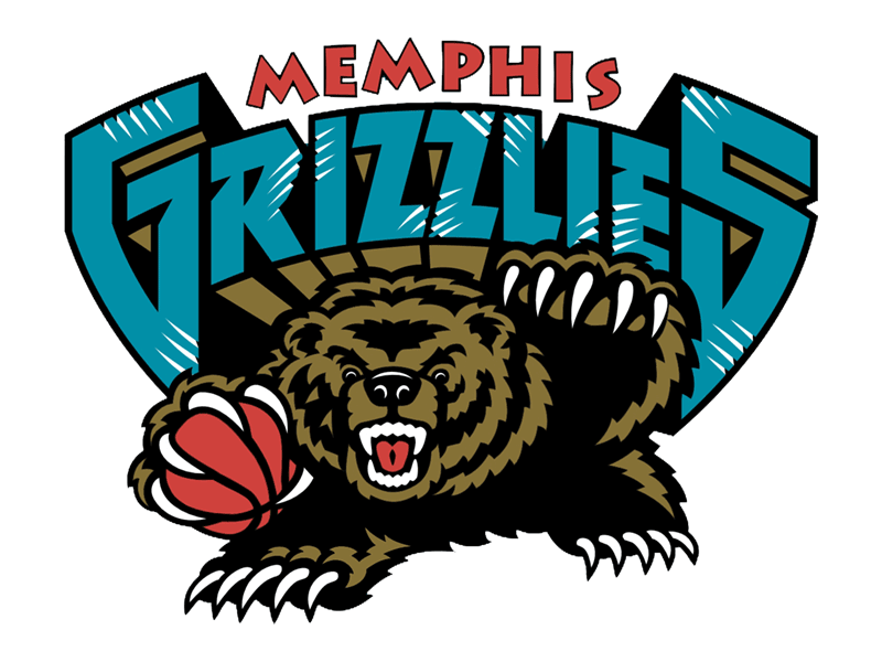 Learn easy to draw memphis grizzlies step 26