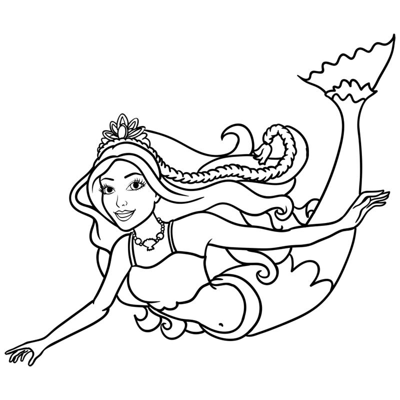 Learn easy to draw merliah step 12