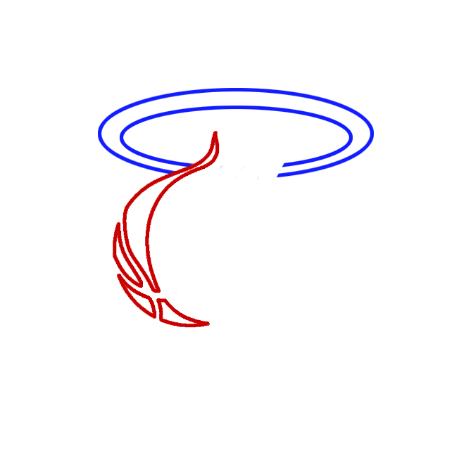 Learn easy to draw miami heat step 02