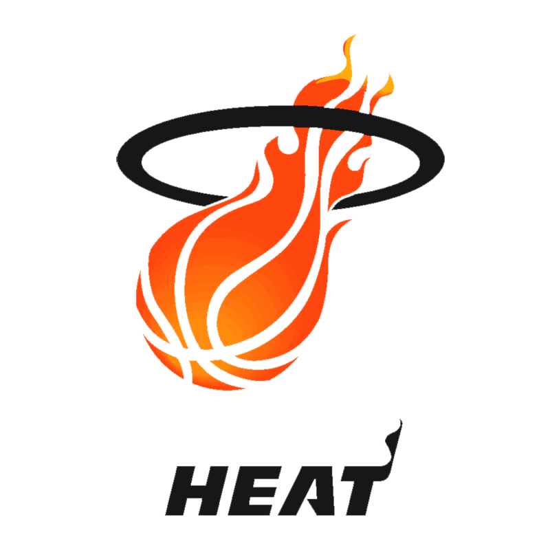 Learn easy to draw miami heat step 09