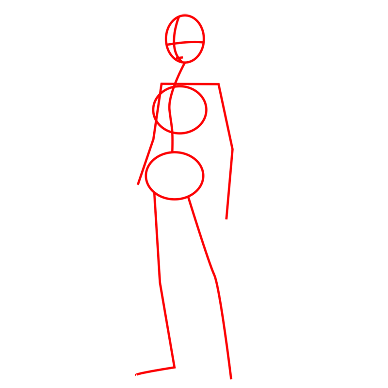 Learn easy to draw mikasa ackerman step 01