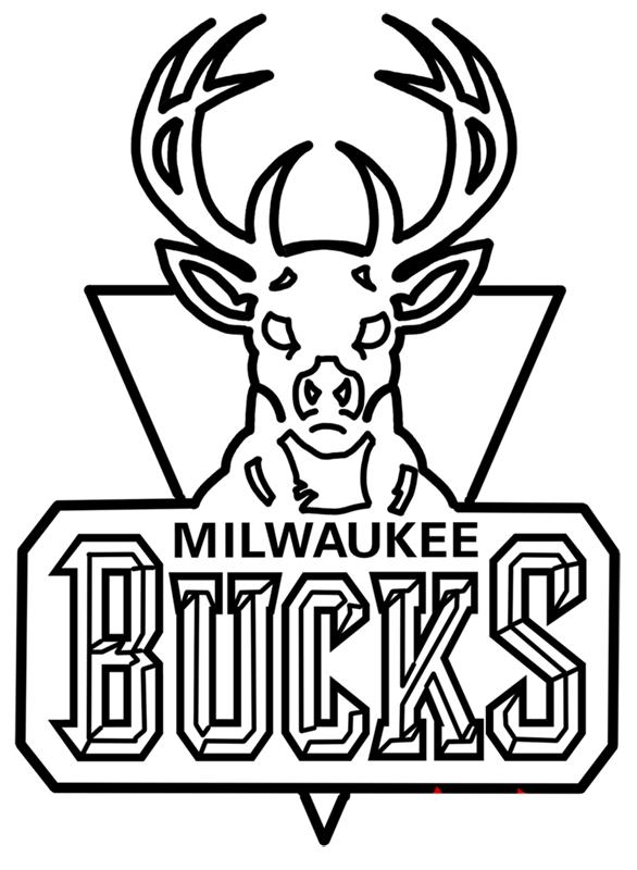 Learn easy to draw milwaukee bucks step 00