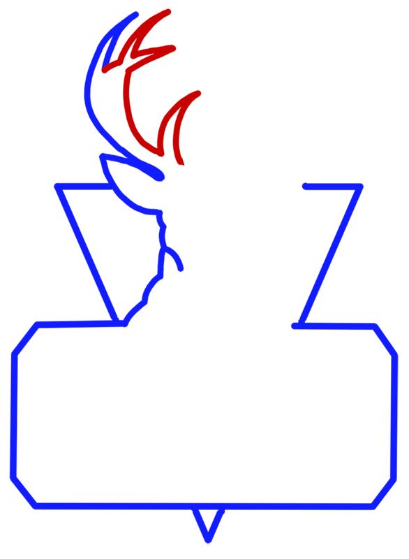 Learn easy to draw milwaukee bucks step 04