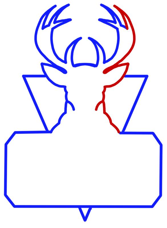 Learn easy to draw milwaukee bucks step 06