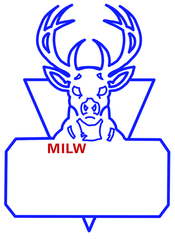 Learn easy to draw milwaukee bucks step 10
