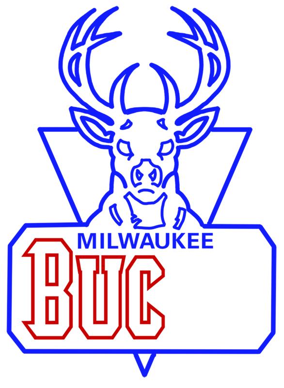 Learn easy to draw milwaukee bucks step 12