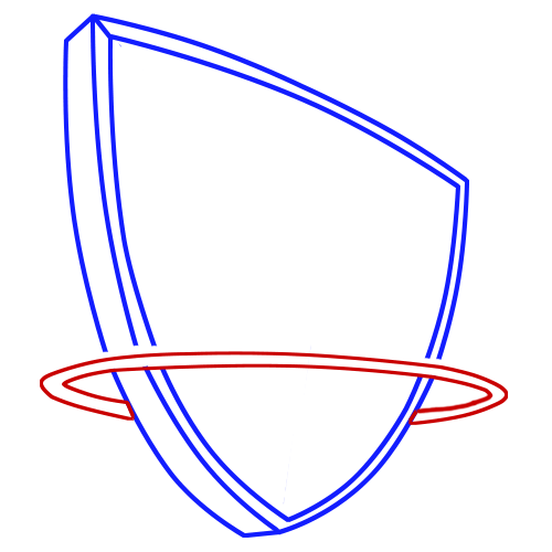 Learn easy to draw new jersey nets step 04