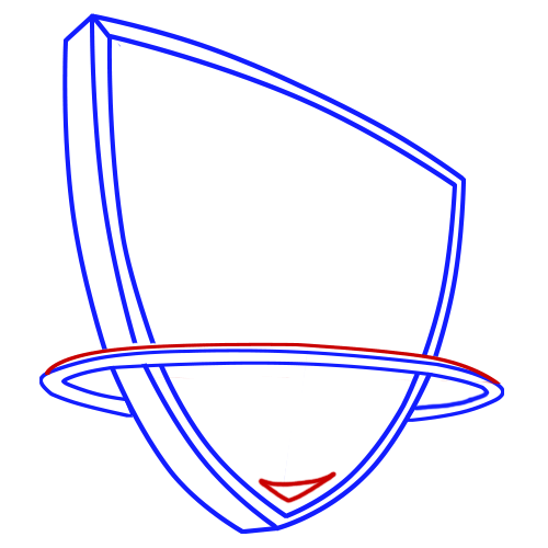 Learn easy to draw new jersey nets step 05