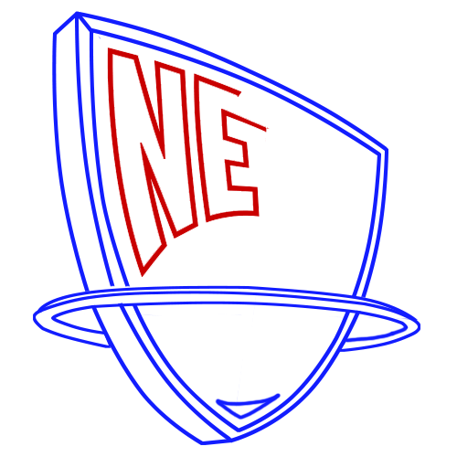 Learn easy to draw new jersey nets step 06