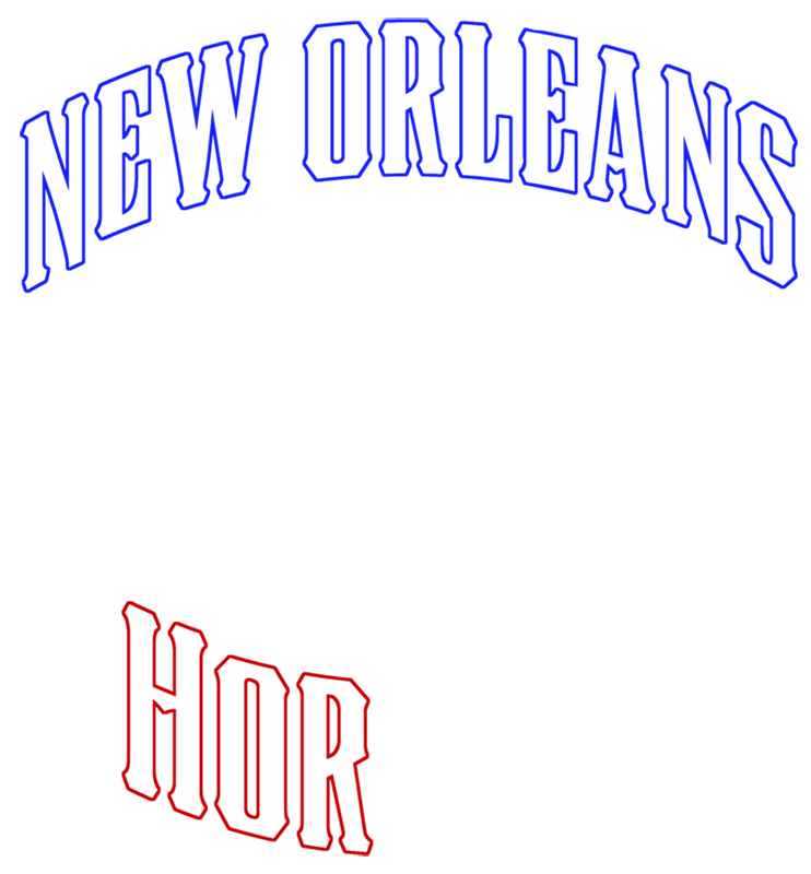 Learn easy to draw new orleans hornets step 04