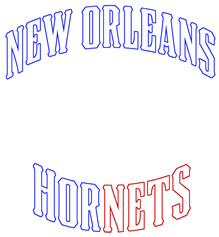Learn easy to draw new orleans hornets step 05