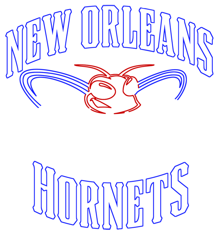 Learn easy to draw new orleans hornets step 08