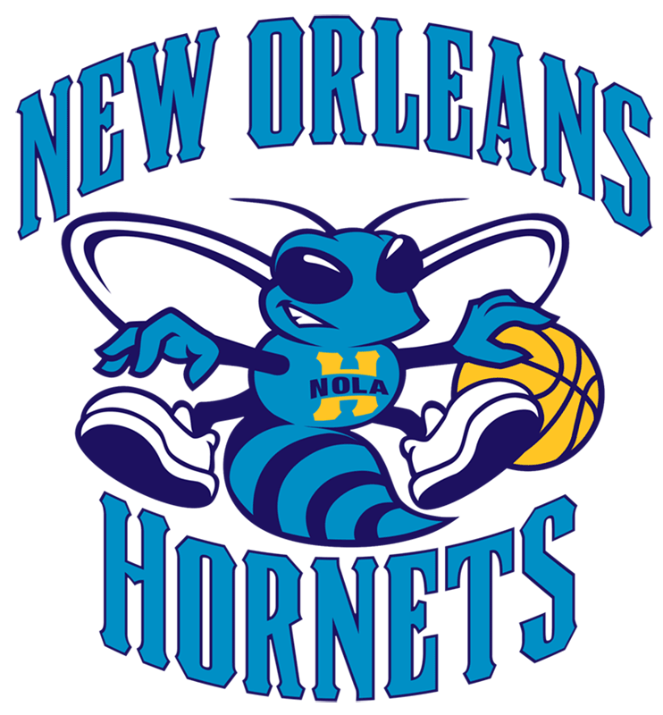 Learn easy to draw new orleans hornets step 18