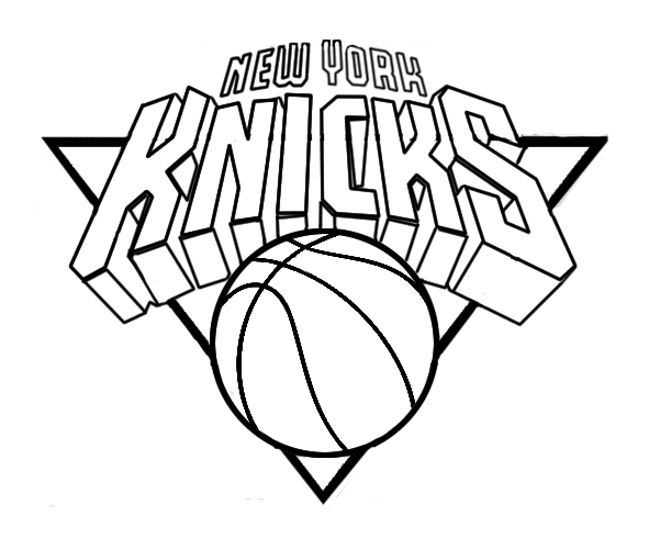 Learn easy to draw new york knicks step 00