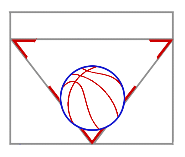 Learn easy to draw new york knicks step 03
