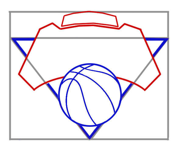 Learn easy to draw new york knicks step 04