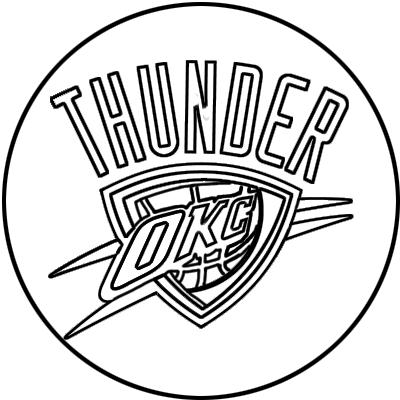Learn easy to draw oklahoma city thunder step 11