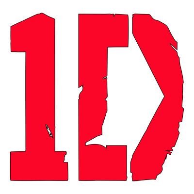 Learn easy to draw one direction step 10